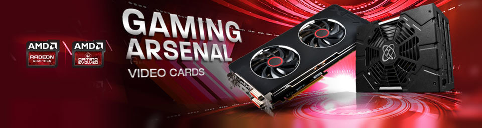 AMD Gaming Arsenal Video Cards