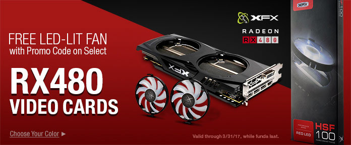 RX480 Video cards