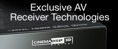 Exlcusive AV Receiver Technologies