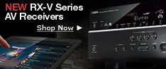 New RX-V-Series AV Receivers