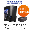 May Savings on Cases & PSU