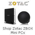 Shop Zotac ZBOX Mini PCs