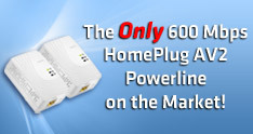 HomePlug AV2 Powerline on the Market