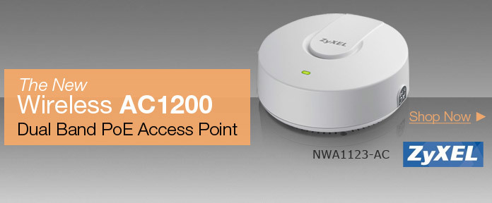 The New Wireless AC1200 Dual Band PoE Access Point
